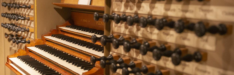 Flentrop organ keyboard