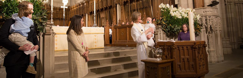 Baptism at the Chapel
