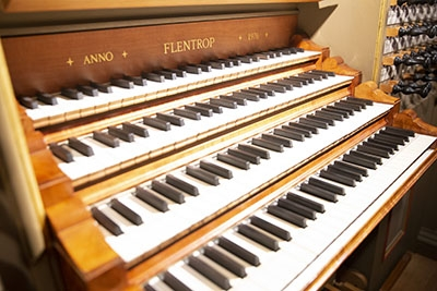 Flentrop Organ keyboard