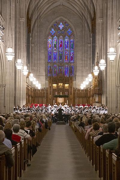 Chapel Choir sings Handel's 'Messiah'