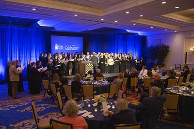 Friends of Duke Chapel celebrate a milestone